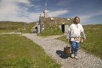 picture of a viking along the viking trail in Newoundland and Labrador